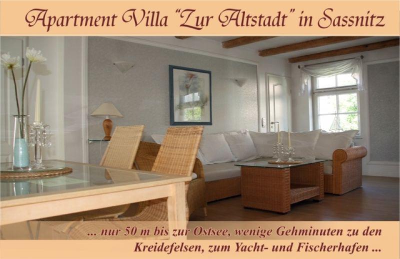 ferienwohnung in sassnitz objekt 4608 ab 55 euro. Black Bedroom Furniture Sets. Home Design Ideas