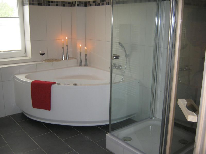 ferienwohnung in greetsiel - objekt 5700 - ab 79 euro - Badezimmer Mit Sauna Und Whirlpool
