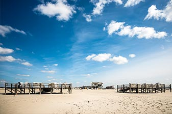 Strand in St. Peter-Ording